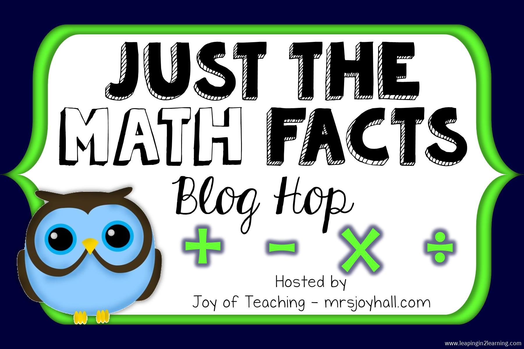 Cool Tools for Addition and Subtraction Fact Mastery | Leaping Into ...