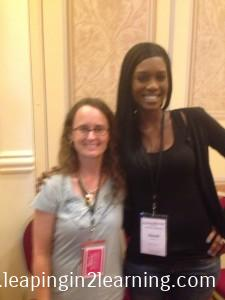 Me and Naomi of Read Like a Rock Star! So sweet!