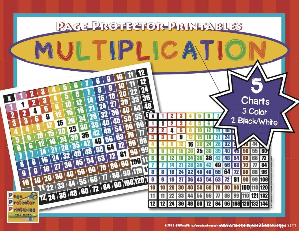 MultiplicationTableto12COVER